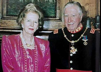 Maggot Thatcher and Butcher Pinochet